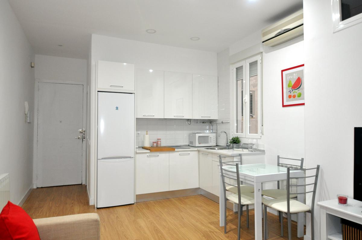 Reforma apartamento turístico en Madrid