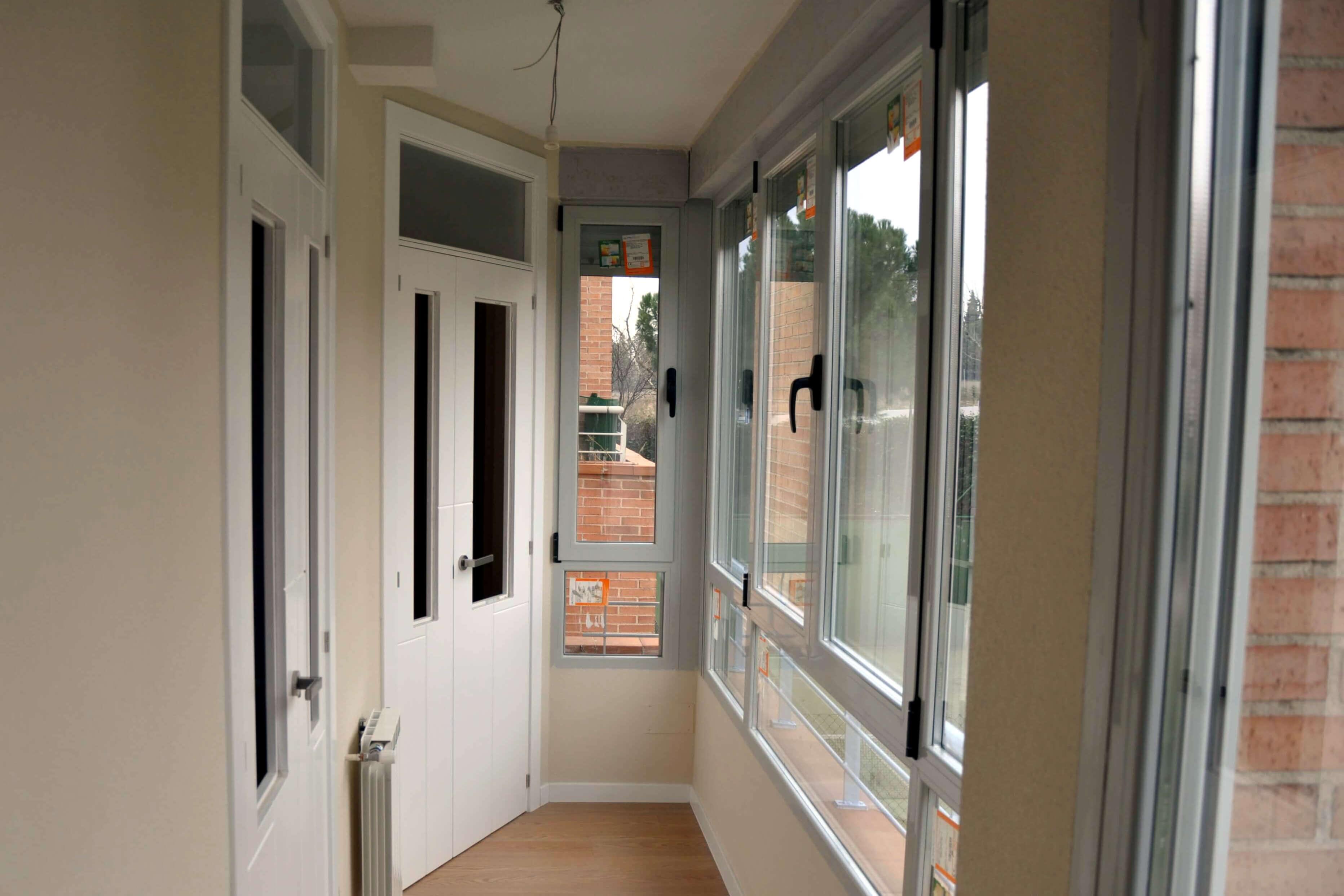 Incorporación de terraza a vivienda